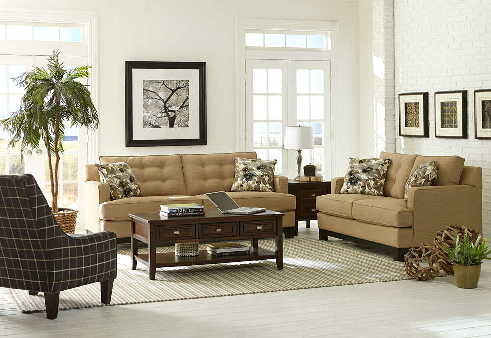 Urban Retreat Living Room Furniture Rental Package