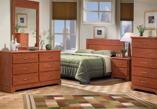 Omni Bedroom Furniture Rental Package from IFR