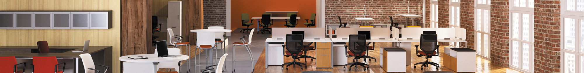 open office space rental furniture