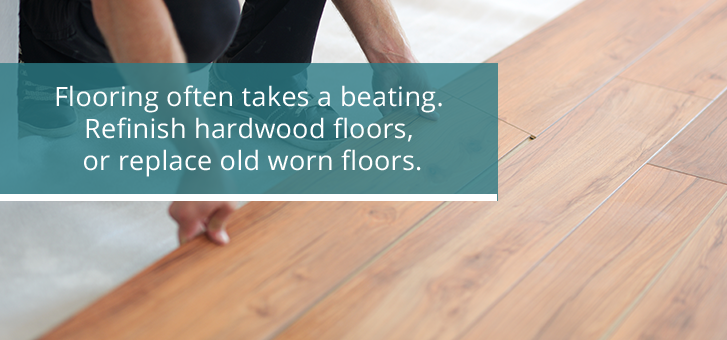 Refinish or Replace Hardwood Floors