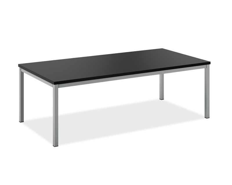 basyx cocktail black table for rent