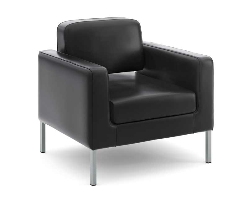 hon basyx leather club chair office furniture for rent