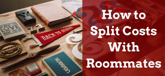 how to split costs with roommates