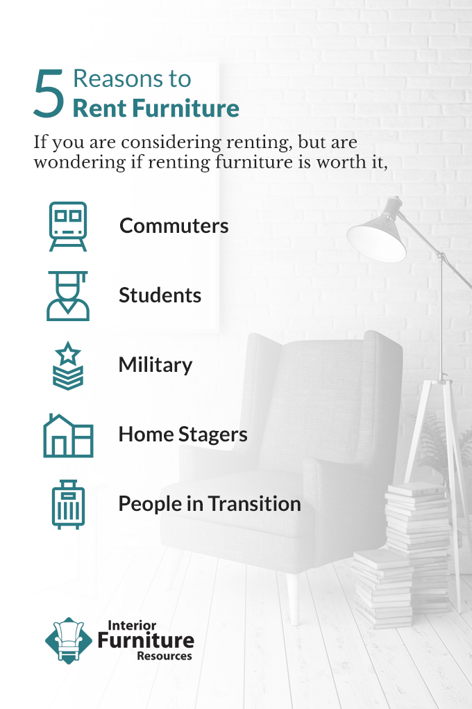 reasons to rent furniture