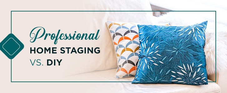 professional home staging vs. DIY
