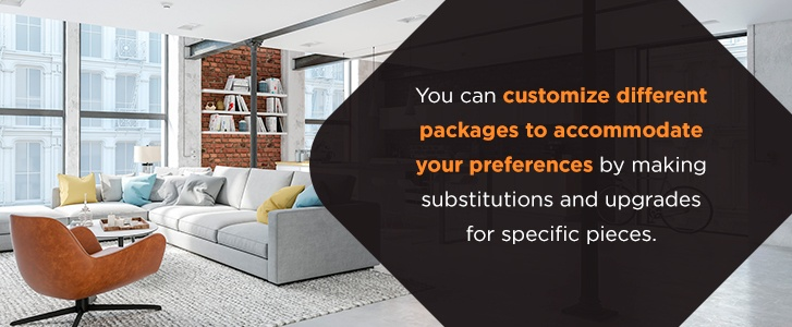Furniture packages from IFR