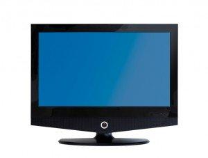 flatscreen LCD TV-Set isolated