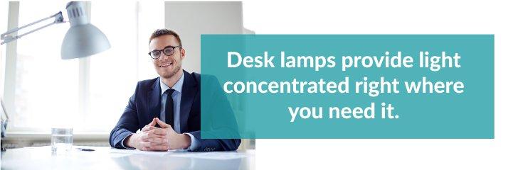 Desk Lamps Provide Light