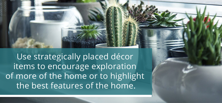 Use Decor to Highlight Home Features