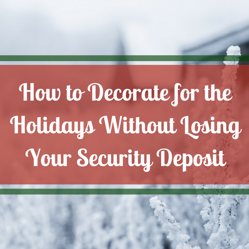 decorate for holidays