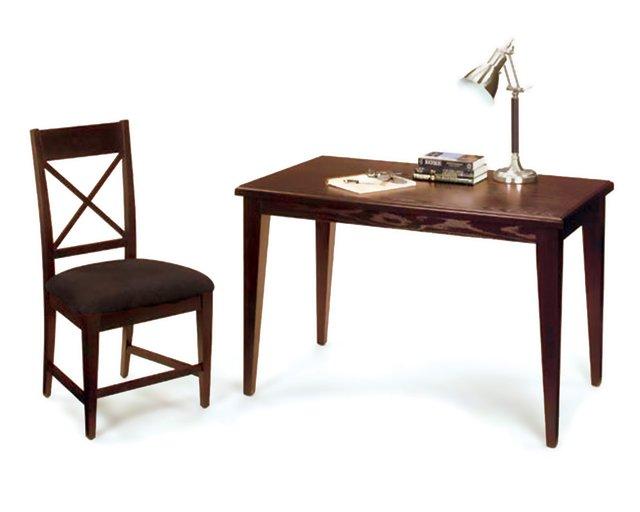 home office rental furniture package - brown