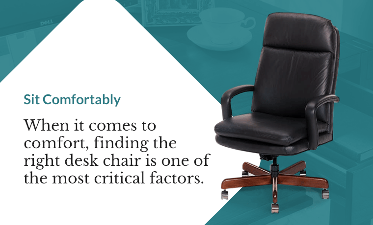 find the right desk chair