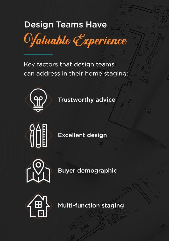 Using a home design team