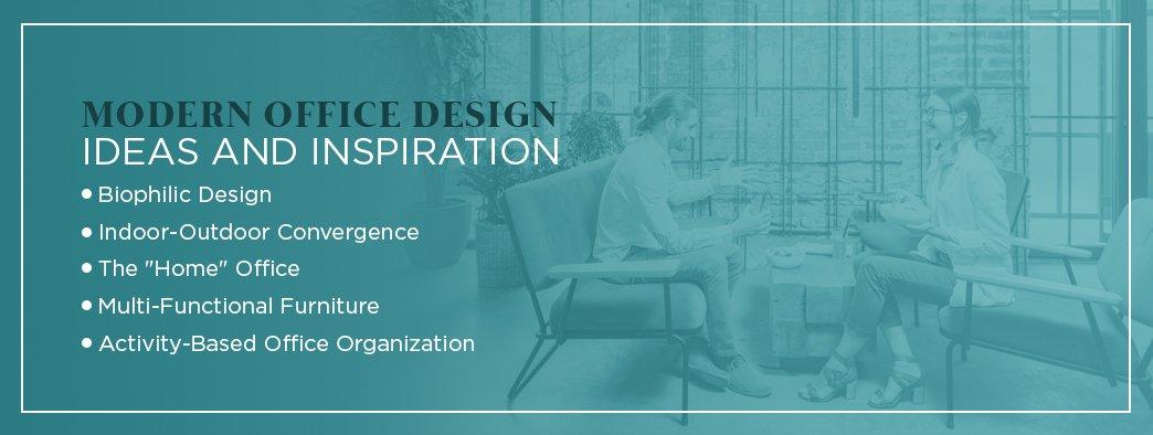 Modern office design ideas and inspiration
